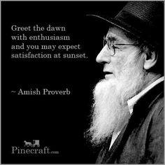 Amish Proverb