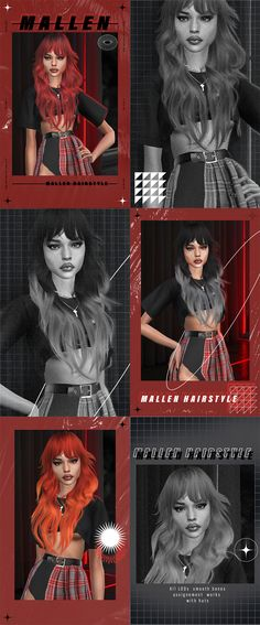 LeahLillith is creating 3D | Patreon Sims 4 Cas, Sims Cc, Sims 4 Piercings, Sims 4 Characters, Sims Four, Sims 4 Update, Sims 4 Custom Content, Indie, Kawaii