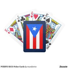 PUERTO RICO Poker Cards