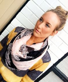 Just purchased this scarf! She's having a 30% off sale with the code springclean have a couple of her headbands and all her stuff is so cute and good quality