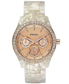 Mother Of Pearl Bracelet Watch...fossil