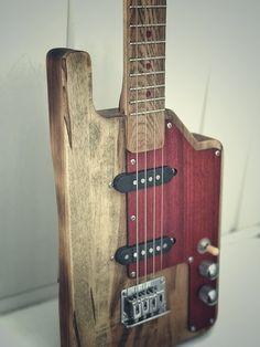 My handmade 4 string guitar. Cbg motive