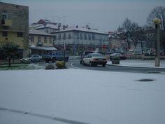 Boa noite :D O nevão de 9 de Janeiro de 2009. Quandoa  vila de Arcos de acordou pintada de branco