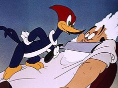 The Barber of Seville, starring Woody Woodpecker
