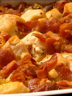 Chicken Rice Bacon casserole