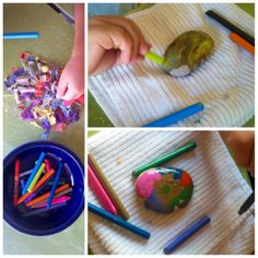 HOT ROCKS, a great summer craft from thefriendcollective - The Blog -