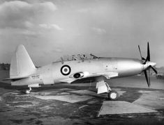 Westland Wyvern T3 prototype c1950 - Westland Wyvern - Wikipedia, the free encyclopedia Navy Aircraft, Ww2 Aircraft, Military Aircraft, Westland Wyvern, Westland Helicopters, Vintage Air, Vintage Cups, Vintage Items, Air Festival