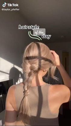 Cute Hairstyles For Teens, Teen Hairstyles, Braided Hairstyles, Hair Tips Video, Hair Videos, Hair Up Styles, Aesthetic Hair, Hair Looks, Hair Inspiration