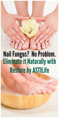 Nail Fungus is no match for all natural and effective Restore. This natural remedy kills nail fungus gently without harmful chemicals or strong fragrances. blog.astilife.com Also available on Amazon. http://www.amazon.com/ASTI-Restore-Natural-Fungus-Remedy/dp/B00B10IBQI/