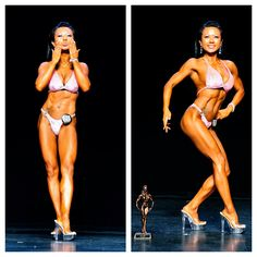 "2009, Quebec figure Championship. Switch from fat diet to carbohydrate diet for competition prep. First time, I got the body condition that I wanted.... This moment, I have learned about the true meaning of competition. "" competition is my way of improving and learning my body."""