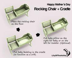 Plans To Build Rocking Chair Cradle Combo Plans Pdf Plans