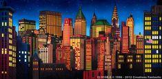 Backdrop CI 016B-S New York Skyline 2B