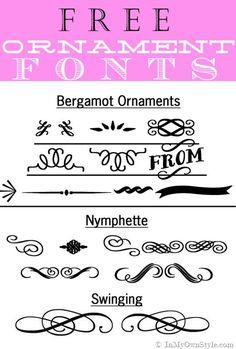 Free Decorative-Ornament-Fonts-