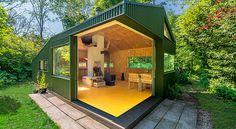 Dit huisje is een van de vele redenen om trots te zijn op Dutch Design. Deze Nederlandse design studio ontwierp namelijk een toffe schuilplaats in het park.