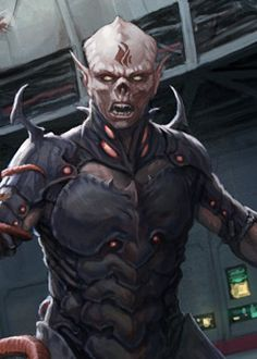 Yomin Carr - A Yuuzhan Vong character who served as one of the antagonists in the first novel of The New Jedi Order series, Vector Prime. He was killed in combat by Mara Jade Skywalker.