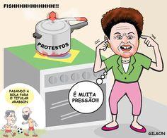 Dilma pressionada...