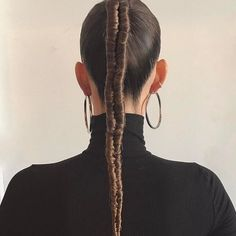 Braided Ponytail Hairstyles, Hairdos, Amika Hair Products, Up Styles, Hair Styles, Runway Hair, Plaits, Hair Inspo, Hair Makeup