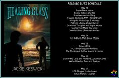 New Release -  Healing Glass by Jackie Keswick #giveaway