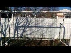 How to build a 12x6 PVC soccer goal - YouTube