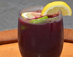 Christmas Sangria / It's combination of zinfandel wine, 3 kinds of citrus, and sparkling cava make this fruity, yet not cloyingly sweet cocktail perfect for the holidays.