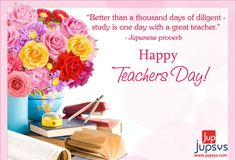 "A good teacher is like a candle, It consumes itself to light the way for others. "" #Happy #Teachers #Day"" -wishes by #jupsysinfotech"