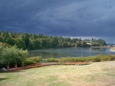 September 1, 2015 storm coming in at Hadlock Bay, WA