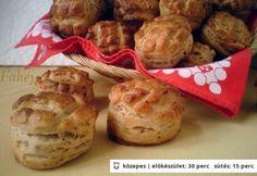Babos pogácsa Muffin, Breakfast, Food, Morning Coffee, Essen, Muffins, Meals, Cupcakes, Yemek