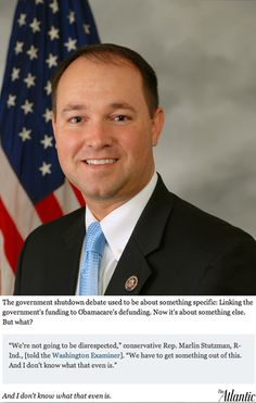 Why the US is screwed right now: GOP congressman says he'll keep fighting even if he has no clue why.#FU CKTARD