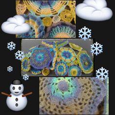 Que tal si nos abrigamos un poquito? Que frio!!! #ganchillo #crochet #crocheting#capa