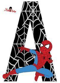 Resultado de imagem para free printable cupcake wrappers and toppers with spiderman Superhero Birthday Party, Boy Birthday, Spider Man Party, Spiderman Theme, Spiderman Font, Spiderman Stickers, Superman, Batman, Lettering