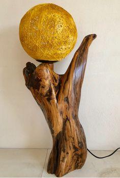 Χειροποιητο φωτιστικο απο ξυλο ελιας. Table Lamp, Lighting, Wood, Home Decor, Rustic Lamps, Lamp Table, Decoration Home, Light Fixtures, Woodwind Instrument