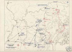 104 best civil war murfreesboro tn images on pinterest battle of murfreesboro stones river set of 10 authentic vintage maps civil war malvernweather Choice Image