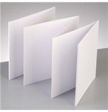 Rozkládací album čtverec, 15x15 cm Decoupage, Album, Fimo, Card Book