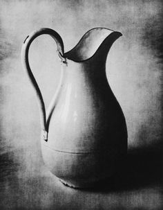 "caughtupinsomebusyday: "" Irving Penn, Enameled Pitcher, New York """