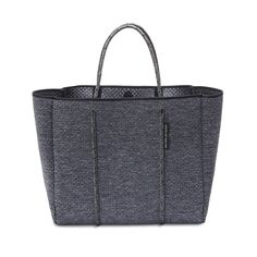 NEW // FLYING SOLO bag in Luxe Charcoal Marle from State of Escape