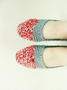 The Original Sock Monkey Slippers by TheCrochetCafe