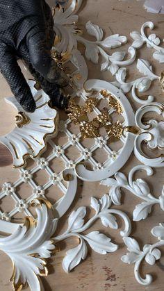 Wooden carved decor by Stavros. Front Door Design Wood, Upholstered Walls, 3d Cnc, Wood Carving Art, Diy Mirror, Home Room Design, Diy Home Crafts, Diy Garden Decor, Wooden Doors