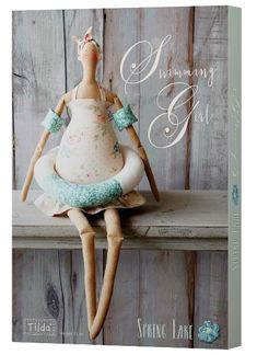 Tilda Swimming Girl Kit is the latest Tilda Doll Kit, isn't she just so adorable? Now in stock!