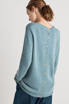 Lino Cut Jumper,  Wool Viscose Alpaca Knit  - Seasalt