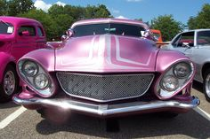 1951 Mercury Coupe--Hot Pink w/Fins