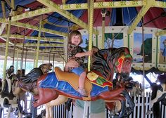 Carousels at the Mall and Glen Echo Park