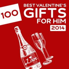 Finding the perfect Valentine's Day gifts for him doesn't have to be rocket science. Here are 100 of the best gifts you can choose that are sure to light up his face, bring you two closer, or heat things up, and make it a Valentine's day you won't soon forget. 12 DIY Valentine Gifts for Him