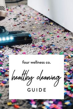 Healthy Cleaning Guide // Nontoxic cleaning supplies & recipes, our favorite gre. Wellness Tips, Health And Wellness, Health Tips, Herbal Remedies, Natural Remedies, Cleaning Hacks, Cleaning Supplies, Chemical Free Cleaning, Natural Cleaning Products