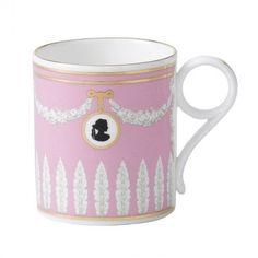 Wedgwood : Archive at Wedgwood Collection - Pink Cameo Mug 0.2ltr benl.picclick.com