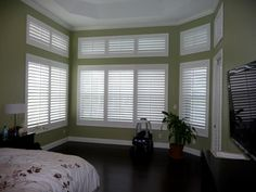 Complement your space with a new set of custom shutters!