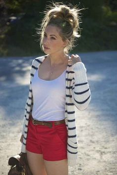 20 Red, White & Blue Outfit Inspirations For A Festive Fourth Of July