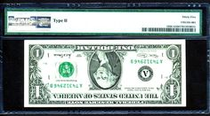 2001 $1 FRN-TYPE II INVERTED BACK AND MISALIGNED ERROR-RARE- BOSTON-PMG 35