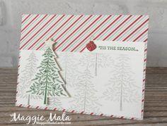 Peaceful Pines & Pals Paper Arts