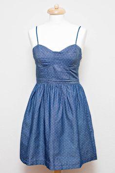 Me and Maria webshop | Little Polkadot Jeans Dress