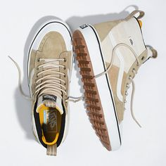 Tenis Vans, Vans Sk8, Cute Shoes, Me Too Shoes, New Balance スニーカー, White High Top Vans, Vans Shoes Fashion, Vans Store, Vanz